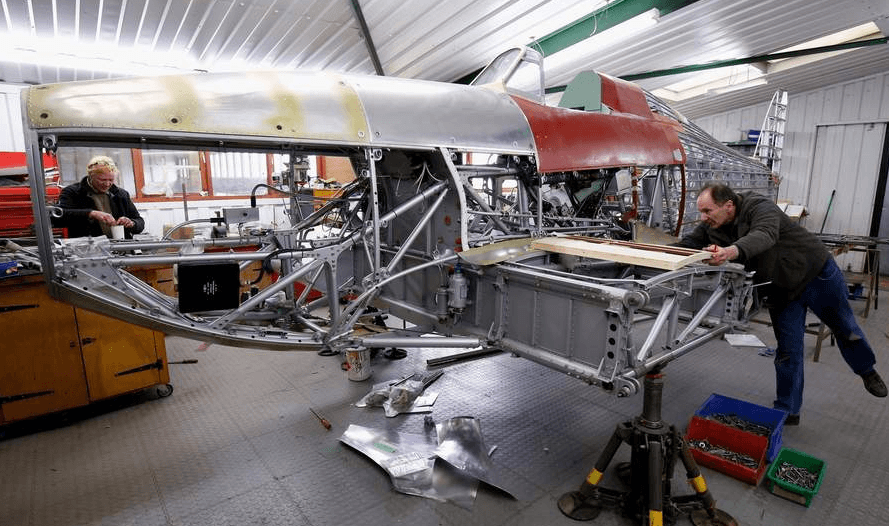 Hawker Hurricane MK.1 V7497 restoration - Battle of Britain