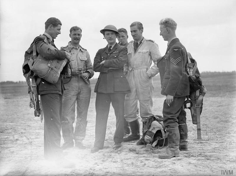 CO of 501 Squadron RAFThe Commanding Officer of No. 501 Squadron RAF at Betheniville.  1940 Battle of France